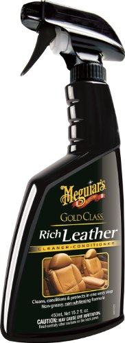 Meguiar's G10916 gold classic rich leather cleaner