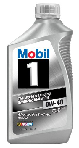 Mobil 1 96989 OW-40 synthetic motor oil