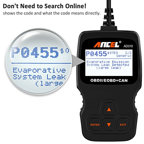 ANCEL AD310 Classic Enhanced Universal OBD II Scanner