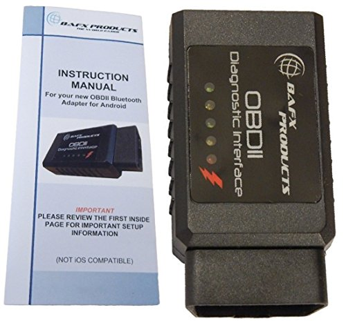 BAFX Products Bluetooth OBD2