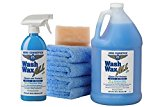 Aero Cosmetics Wet or Waterless Car Wash Wax Kit 144 Ounces