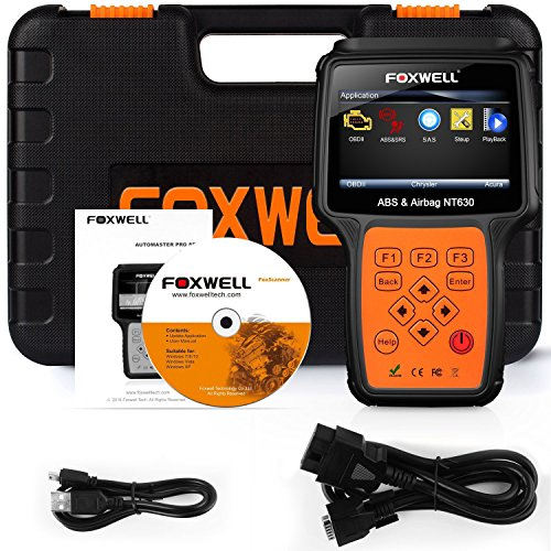 Scan Tools OBD II + ABS SRS Diagnostic Scanners