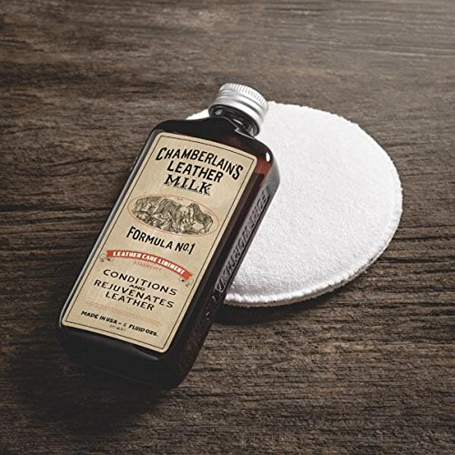 Chamberlain's leather milk leather conditioner and cleaner