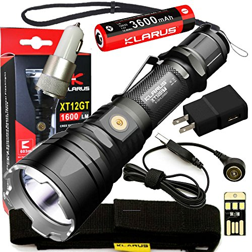 Tactical rechargeable flashlights