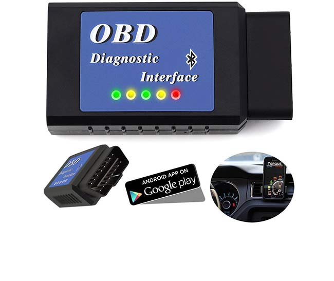 best obd2 bluetooth adapter scanner reviews 2018. Black Bedroom Furniture Sets. Home Design Ideas
