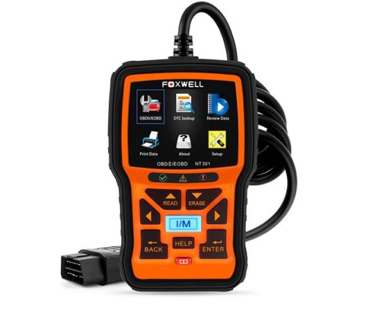 Professional automotive diagnostic scan tool