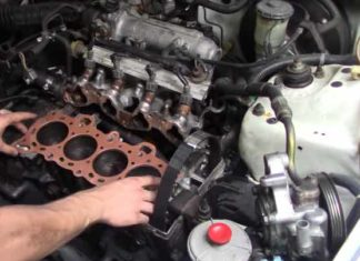 Sign of Blown Head Gasket