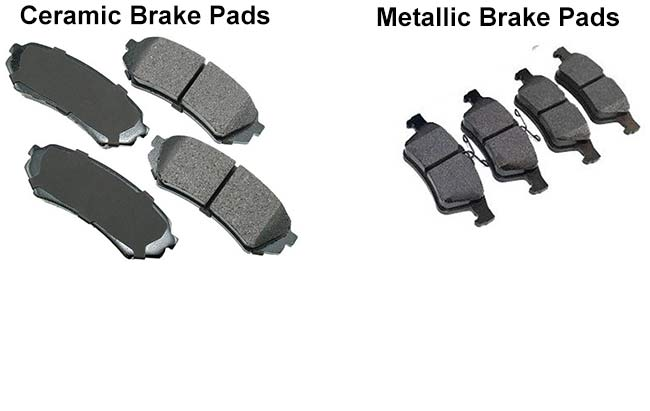 Ceramic Vs Metallic Brake Pads Find The Difference