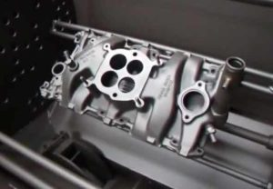Cleaning the intake manifold