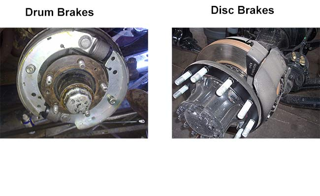 Drum Brakes Vs Disc Brakes Differences Between Drum And