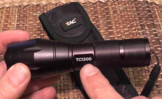 1Tac Tactical TC1200 Flashlight Review