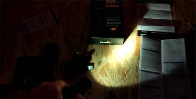 compact easy to operate flashlights